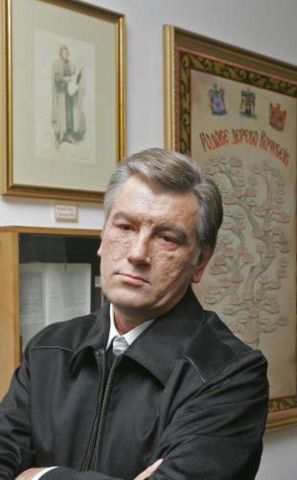 Віктор Ющенко в Батурині