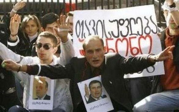 Мітинг опозиції у Тбілісі