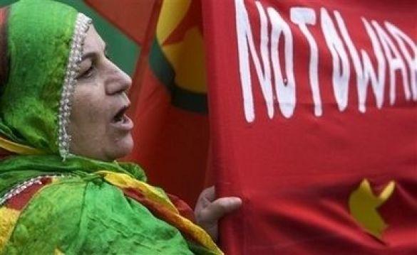 Курди мітингували в Гаазі