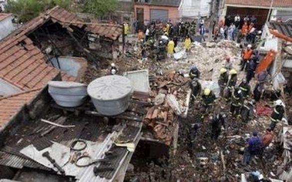 Аварія літака в Сан-Паулу