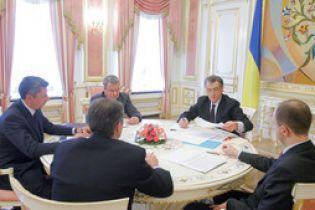 Керівництво України обговорило ціну на газ