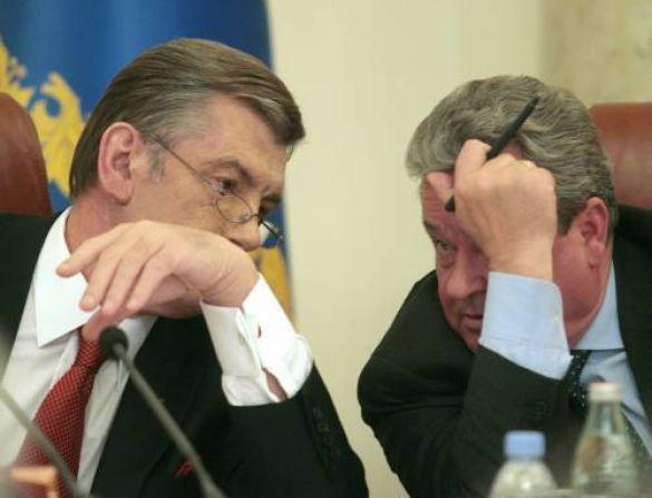 Іван Плющ і Віктор Ющенко