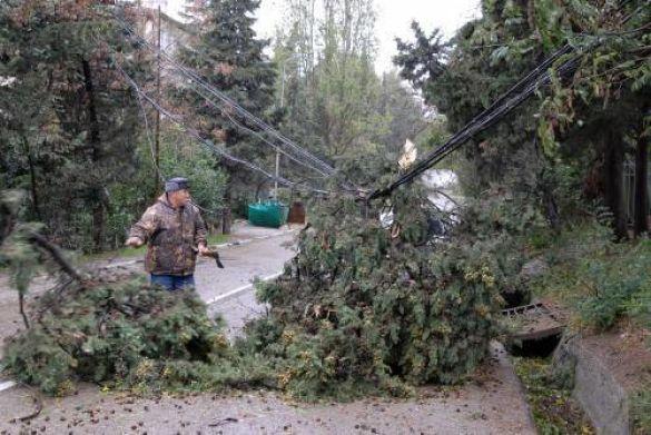 Наслідки шторму в Алушті, АР Крим
