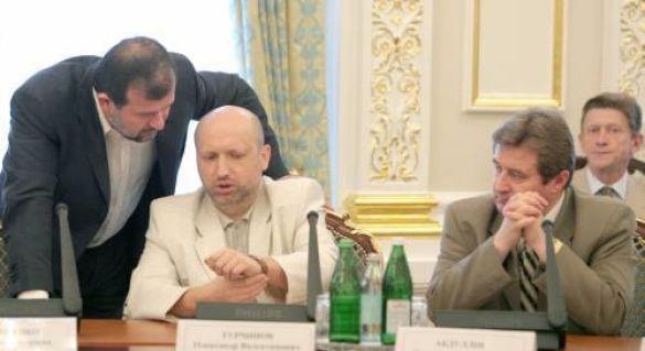 Олександр Турчинов, Віктор Балога, Йосип Вінський