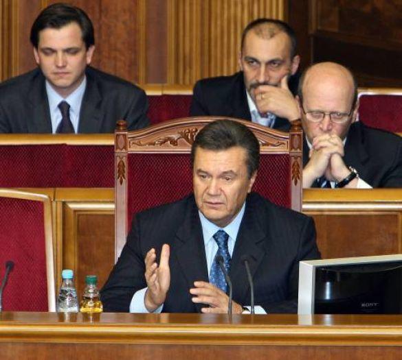 Віктор Янукович у Верховній раді