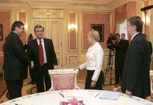 Ющенко-Луценко-Тимошенко-Кириленко