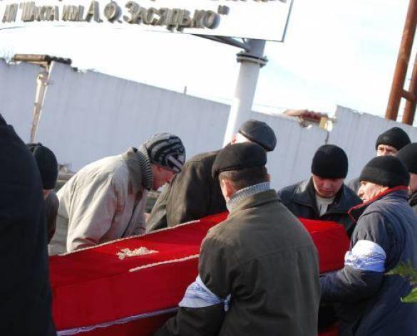 Похорон шахтарів