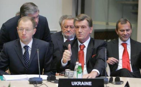 Віктор Ющенко та Арсеній Яценюк