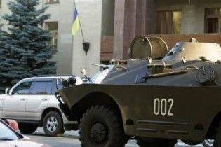 Севастопольська ДАІ заперечує факт затримання російських БТРів