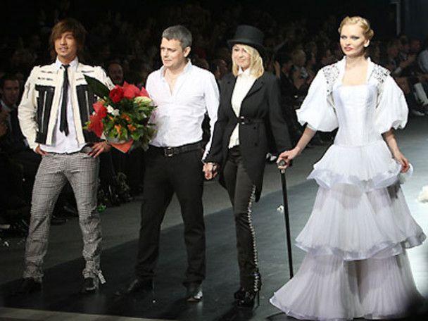 Весілля Діми Білана на подіумі