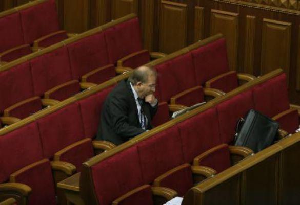 Депутат у залі ВР