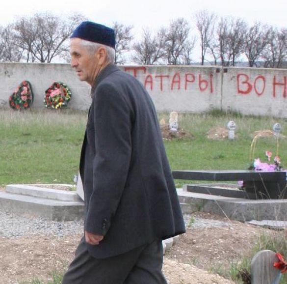 Вандалізм на татарському цвинтарі