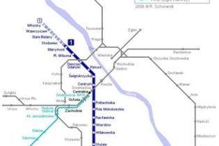 У Варшаві відкрилась перша лінія метро