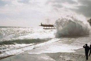 На Крим насувається небезпечний шторм