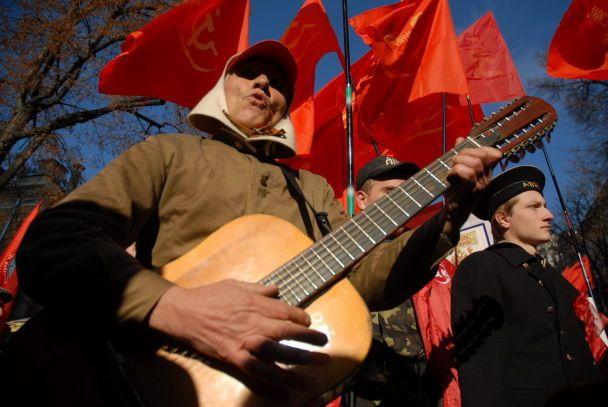 На Майдані згадували Леніна і проганяли Ющенка (відео)