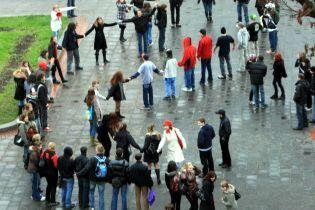 Львівські студенти відзначили своє свято танцями (відео)