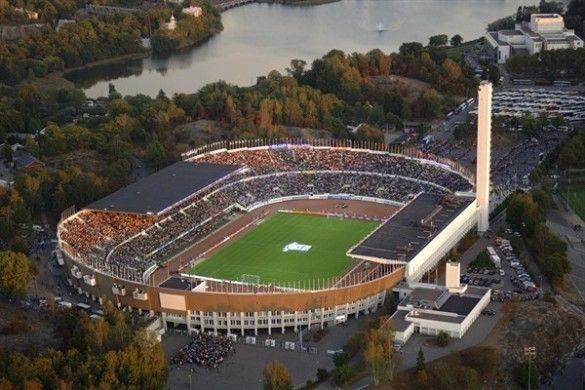 Олімпійський стадіон у Гельсінкі