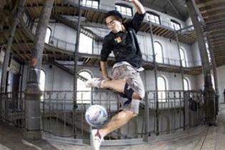 Хто найкраще приборкав футбольний м'яч (відео)