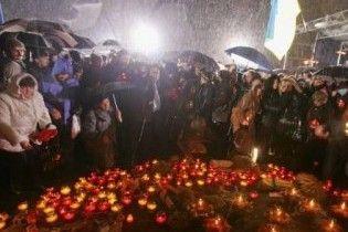У Києві пройшла Скорботна хода пам'яті жертв Голодомору