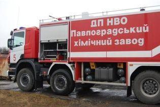 На Дніпропетровщині з'явилася унікальна пожежна машина (відео)