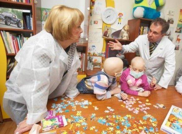 Катерина Ющенко в онколікарні