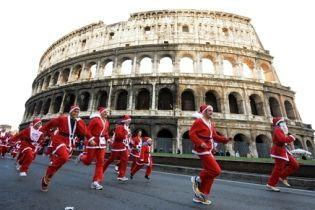 Санта-Клауси встановлювали рекорди