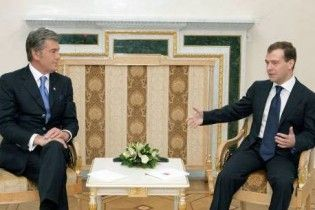 Мєдвєдєв: основа політики Ющенка - антиросійська позиція