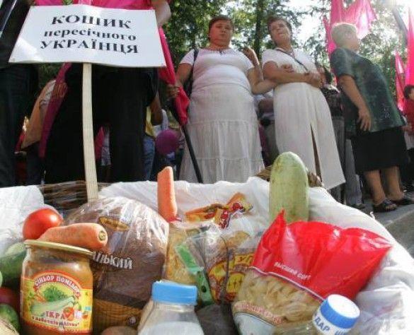 Споживчий кошик українця