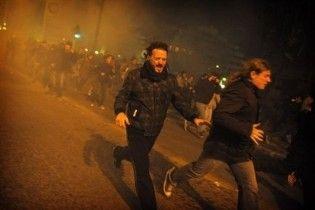 У Афінах мирна демонстрація закінчилася сутичками з поліцією