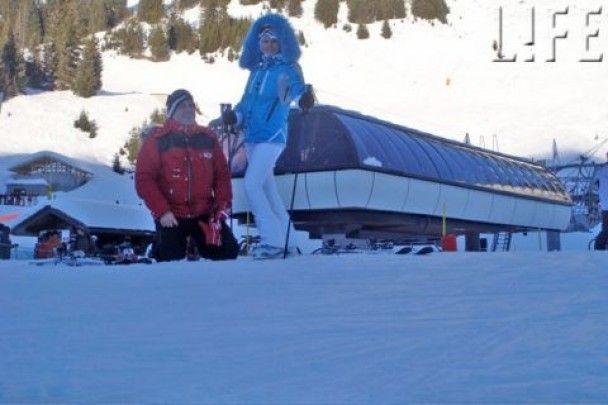 Валерія підкорила Швейцарію на лижах