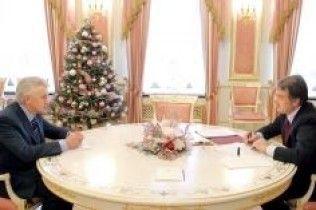 Ющенко зустрівся з Литвином і надавав йому завдань