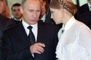Путін і Тимошенко домовляються поновити міждержавні консультації