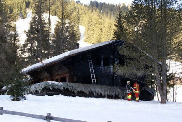 Пожежа у Швейцарії