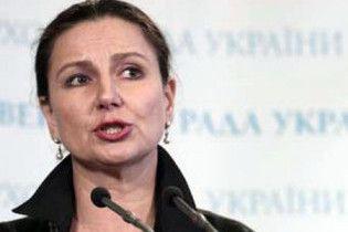 Богословська: Україна винна у газовій війні з Росією, але газ не крала
