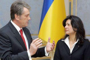 Ющенко похвалив Стельмаха перед МВФ