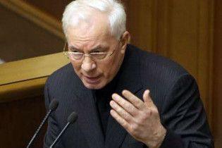 Азаров поскаржився Європі на Тимошенко