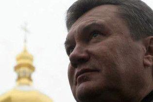 Янукович лікується у Феофанії