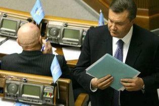 Янукович не візьме участь у виборах президента парламентом