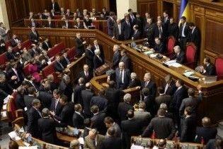 ПР обіцяє паралізувати роботу Ради до виборів