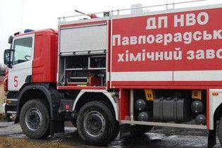 На хімзаводі в Павлограді стався вибух. Троє постраждалих