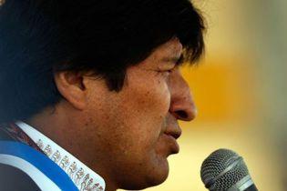 Президенту Болівії виправили ніс