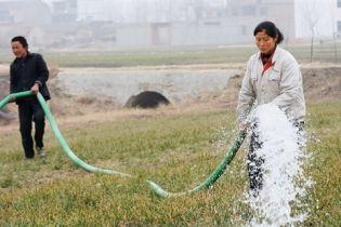 Декілька провінцій Китаю постраждали від засухи