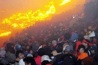 15 тисяч людей ледь не згоріли на святі в Південній Кореї