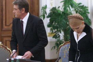 "Генсек ЄС закликав Ющенка та Тимошенко ""жити дружно"""