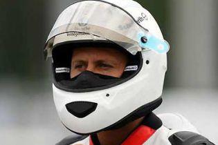 Шумахер змінив авто на мото – і потрапив до лікарні