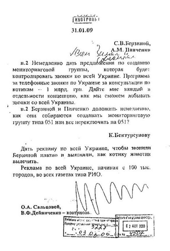 """Розпорядження Черновецького про """"котиків"""""""