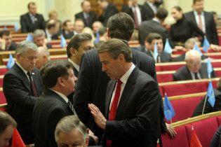 Рада відкрилася, щоб зайнятися Огризком і Черновецьким