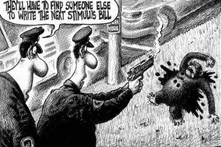 Обаму зобразили у вигляді мертвого шимпанзе