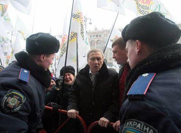 Леонід Черновецький на мітингу