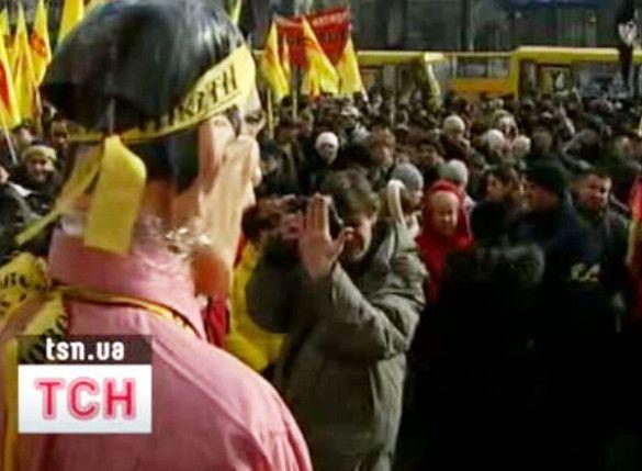 Мітинг проти Черновецького